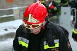 Pożar domu w Łozach. Siedem zastępów strażaków walczyło z ogniem