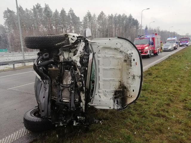 Kierowca był trzeźwy.
