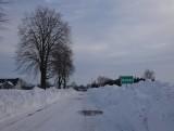 Droga Walawa - Niziny koło Przemyśla już odśnieżona. Mieszkańcy dziękują [WIDEO, ZDJĘCIA]