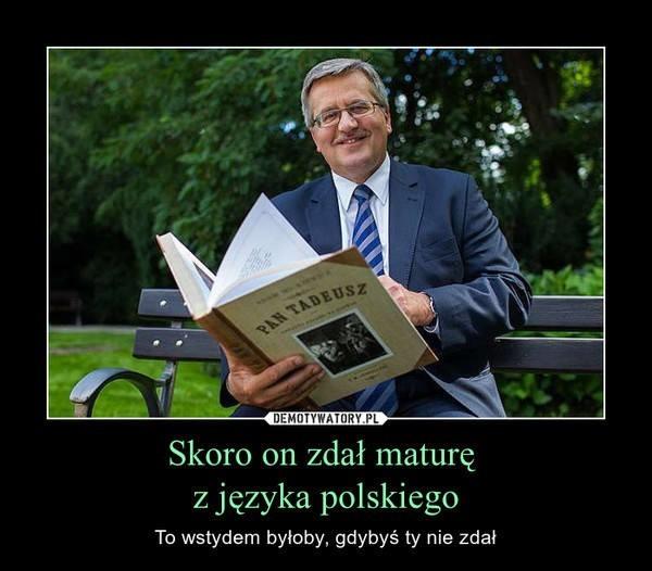 Trwają matury. Uczniowie mają za sobą język polski. W...
