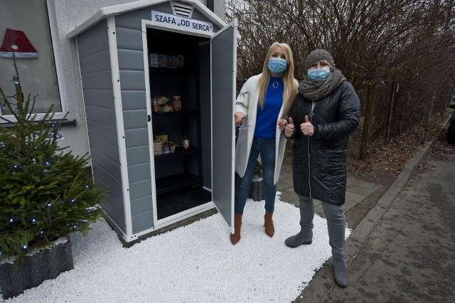 """""""Szafa od serca"""" zlokalizowana jest w sąsiedztwie Domu Seniora przy ul. Leśnej w Koszalinie."""