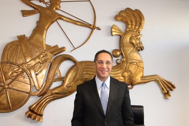 Mohamed Abdel Gabbar, dyrektor Urzędu Turystyki Egiptu na Niemcy, Austrię, Szwajcarię i Polskę.