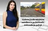 Szalona jazda miejskim autobusem po Kielcach! Jest reakcja policji [WIADOMOŚCI]