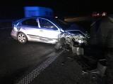 Trzy osoby trafiły do szpitala w wyniku wypadku na A1. Policja wyjaśnia okoliczności zdarzenia