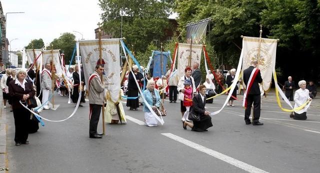 Procesja Bożego Ciała w Szczecinie