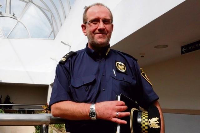 Bogdan Rutkowski, komendant Straży Miejskiej w Łomży uważa, że fotoradar służy zwiększaniu bezpieczeństwa, a nie zarabianiu kasy