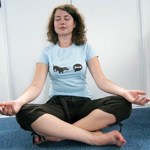 Każdą medytację należy poprzedzić odpowiednim przygotowaniem: powinniśmy być rozluźnieni i wyprostowani. Najlepiej siedzieć ze skrzyżowanymi nogami.