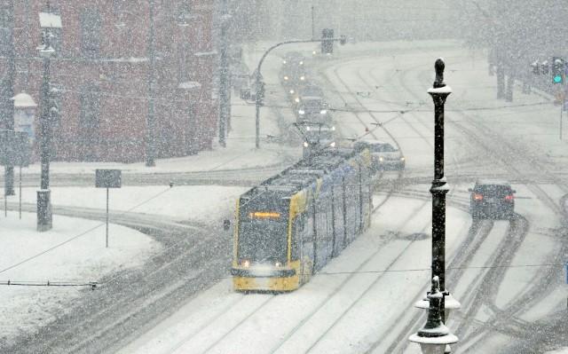 Miejscami spadło nawet 15 cm śniegu