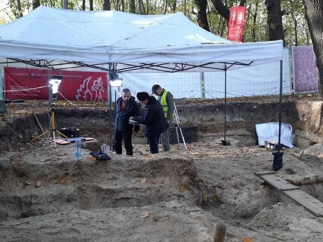 Prace archeologiczne na Westerplatte