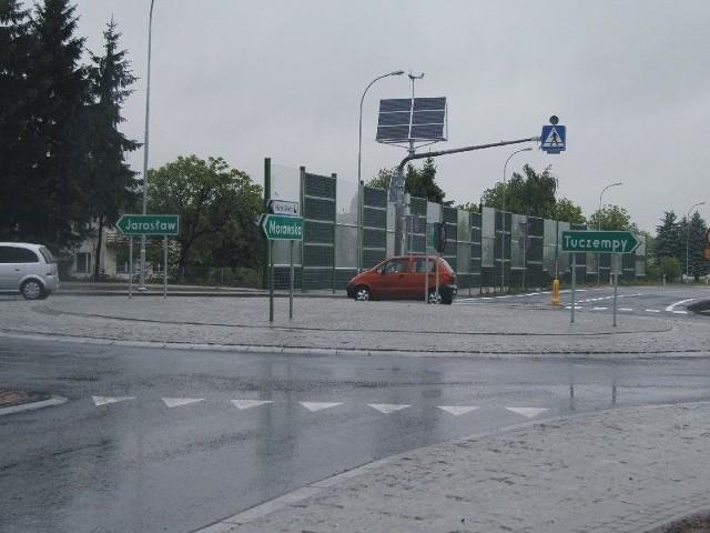 Wreszcie połączyli obwodnicę z przemysłową częścią JarosławiaZakończenie budowy ronda umożliwiło otwarcie łącznika obwodnicy Jarosławia z przemysłową częścią miasta.