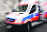 Wypadek w Oświęcimiu. Zderzyły się dwa samochody, dwie osoby trafiły do szpitala