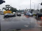 Kolejny wypadek na skrzyżowaniu bez świateł koło Korony (ZDJĘCIA)