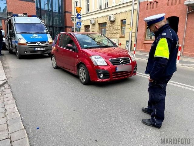 Potrącenie pieszej w Opolu.