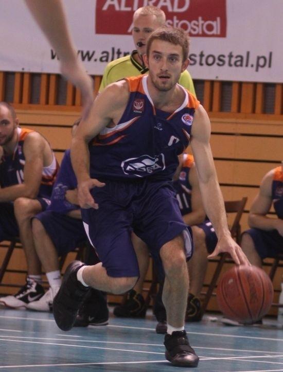 Artur Donigiewicz, gracz Rosy jest w bardzo dobrej formie.