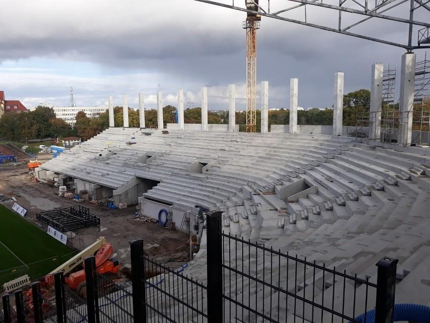 Stadion Pogoni Szczecin - stan 18 października 2020 r.