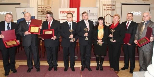 Złota Setka Gmin Podkarpacia 2012