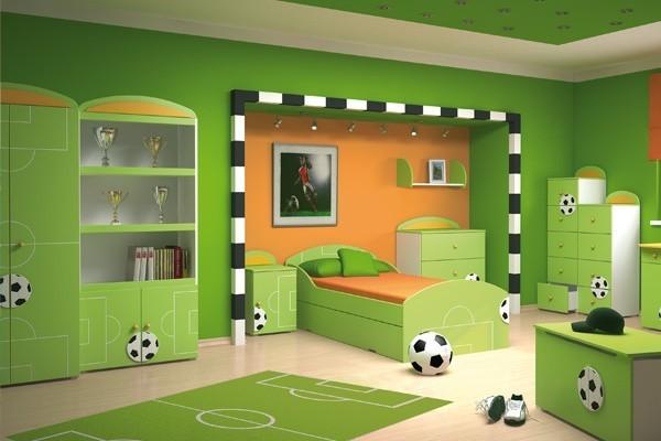 Aranżacja z meblami z kolekcji SportOdpowiedni wystrój pokoju dziecięcego wprawi naszą pociechę w sportowy nastrój i zachęci do dalszych treningów.