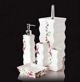 Zestawy łazienkowe z eleganckiej porcelany Abs-invest są estetyczne i funkcjonalne i trwałe.