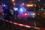 Śmiertelny wypadek na Legnickiej. Mężczyzna wpadł pod tramwaj (ZDJĘCIA)