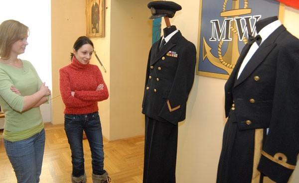 Wystawa marynistycznaWystawa marynistyczna w leza jskim muzeum
