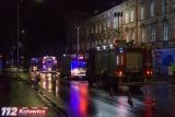 Nocny pożar w Mysłowicach. Sześć osób trafiło do szpitala, w tym czwórka dzieci. W ogniu stanęło mieszkanie i klatka schodowa