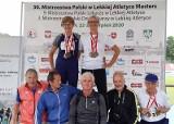 Medalowe szaleństwo sportowców weteranów z powiatu skarżyskiego na Mistrzostwach Polski w Lekkoatletyce Masters w Lublinie