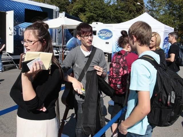 """Casting do niemieckiego """"Idola"""" w SzczecinieNa Jasnych Błoniach w Szczecinie odbył się wczoraj casting do niemieckiej wersji """"Idola""""."""