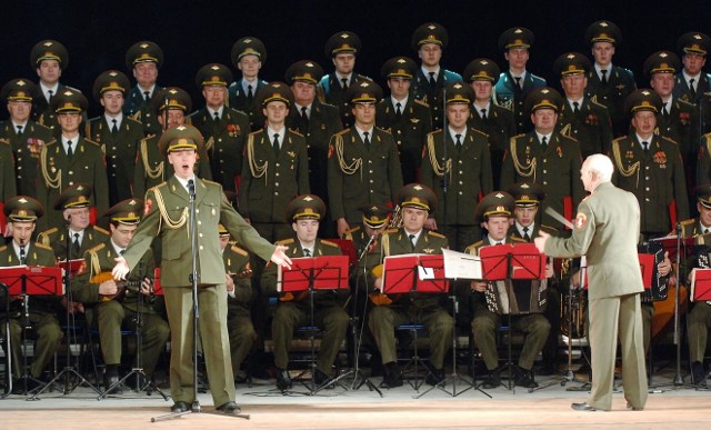Chór Aleksandrowa w KoszalinieChór Aleksandrowa to okolo 200 artystów - chórzyści, orkiestra, balet i oczywiście soliści.