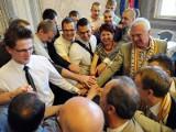 Szczypiorniści Czuwaju u prezydenta Przemyśla