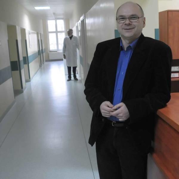 Janusz Gawlik, kierownik oddziału terapii uzależnień.
