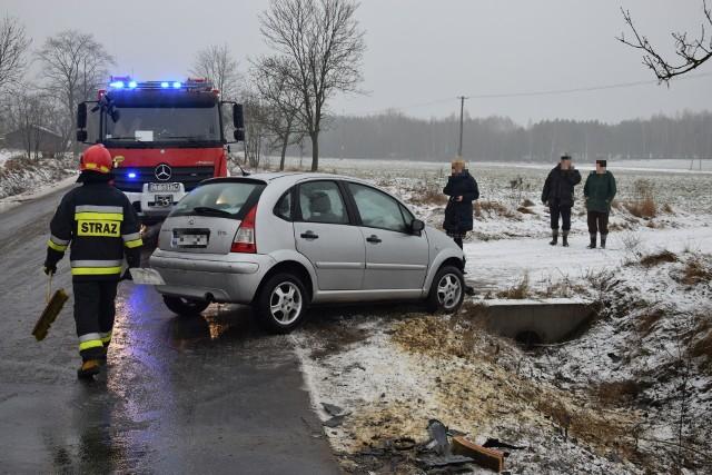 Dziś kilka minut przed godziną 8 rano doszło do kolizji w miejscowości Małe Radowiska.