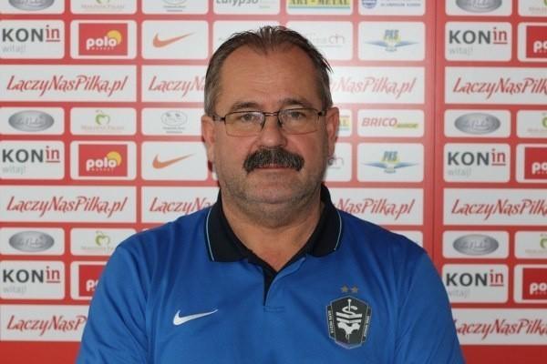 Roman Jaszczak, prezes i trener piłkarek Medyka Konin