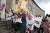 Protest nauczycieli we Wrocławiu [ZDJĘCIA]