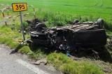 Groźny wypadek pod Wrocławiem. Dwie osoby, w tym dziecko, ranne