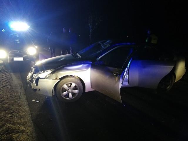 5 października w godzinach wieczornych dyżurny stanowiska kierowania komendanta powiatowego PSP w Węgorzewie otrzymał informację o wypadku drogowym na trasie Gębałka - Stręgiel. Po  dotarciu na miejsce okazało się, że kierująca pojazdem kobieta uderzyła najprawdopodobniej w łosia, który wtargnął na jezdnię.