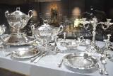 Królewskie srebra stołowe na wystawie w Wieliczce. Pokazano je po raz pierwszy na świecie [ZDJĘCIA]