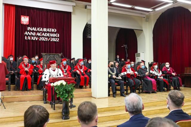 Inauguracja Roku Akademickiego 2021/2022 Pomorskiego Uniwersytetu Medycznego w Szczecinie