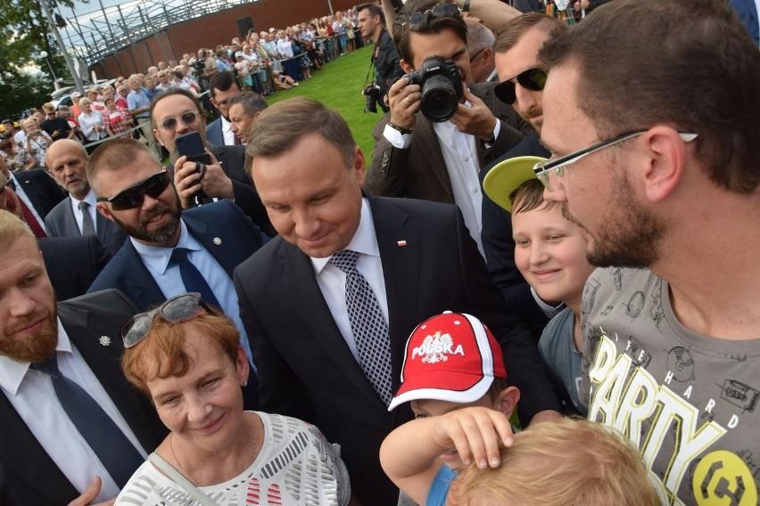 Prezydent Andrzej Duda odwiedza w piątek nasz region....