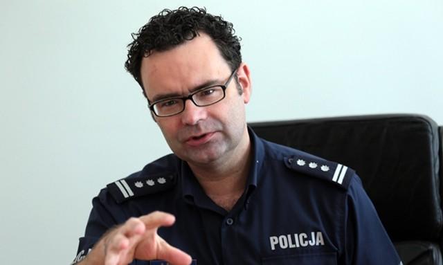 Insp. Andrzej Kostka nie jest już szefem zielonogórskich policjantów.