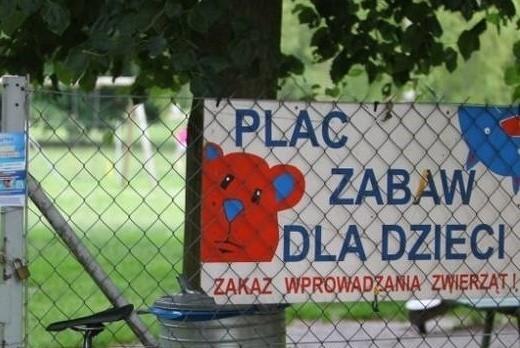 Plac zabaw nad jeziorem w Strzeszynku został wyremontowany
