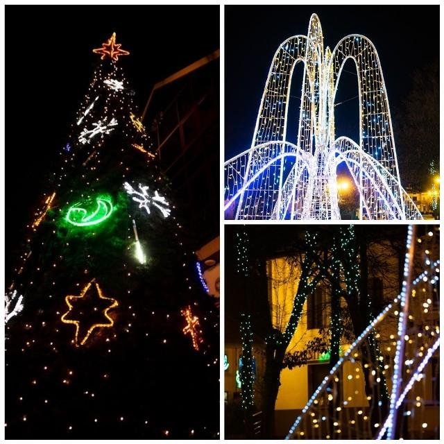 Świąteczna atmosfera zawitała do Wysokiego Mazowieckiego. Centrum miasta rozświetliły setki lampek! Jest też wielka choinka z ozdobami i pięknie przystrojona fontanna miejska. Szczególnie wieczorny spacer po mieście, każdego wprawi w bożonarodzeniowy nastrój. Zobacz zdjęcia!