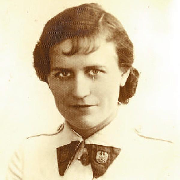 """Halina Bloch (1910-1939?) była instruktorką PWK, należała do """"Sokoła"""" i Polskiego Związku Zachodniego."""