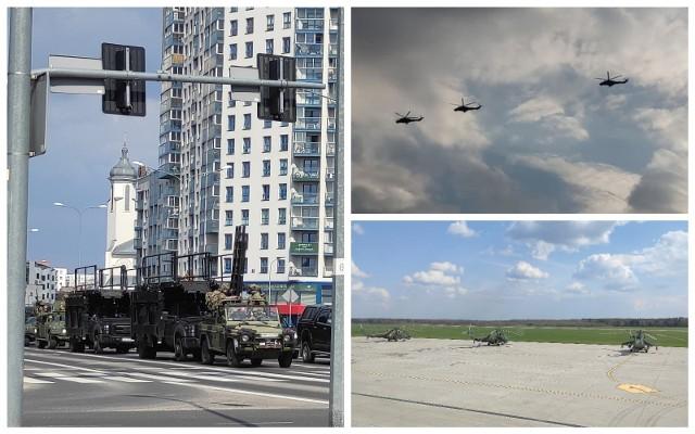 W Białymstoku odbywają się ćwiczenia wojskowe. Mieszkańcy miasta mogą spotkać żołnierzy GROM-u, a nad ich głowami niespodziewanie mogą pojawić się śmigłowce szturmowe Mi-24