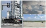 GROM na ulicach Białegostoku, szturmowe śmigłowce Mi-24 na lotnisku Krywlany. Tajne ćwiczenia wojskowe w Białymstoku (zdjęcia)