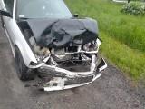 Zderzenie aut w Prądocinie na DK nr 25. Na miejscu policja i strażacy [zdjęcia]