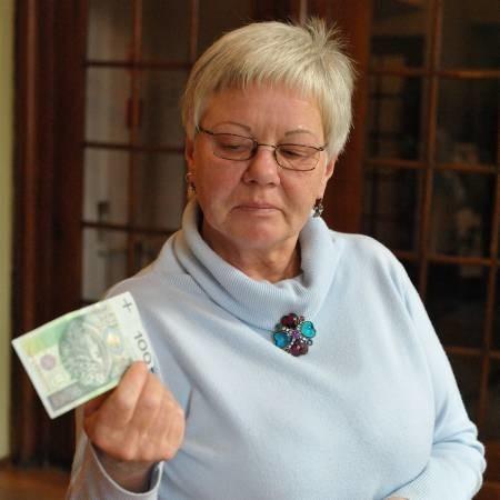 Elżbieta Golicz dostanie więcej 88 zł. - Każdy pieniądz się przyda - przyznaje.