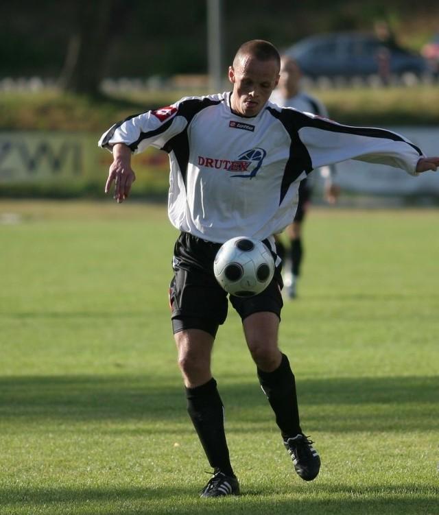 Piotr Łapigrowski był najlepszym zawodnikiem bytowian w rundzie jesiennej.
