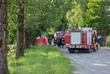 Śmiertelny wypadek w Mojuszu. 1 osoba nie żyje, 4 są ranne. Sprawcą pijany kierowca [zdjęcia, wideo]