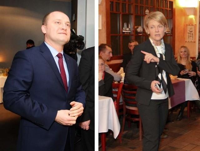 Kampania przed II turą w Szczecinie rozczarowała.  Małgorzata Jacyna-Witt i Piotr Krzystek unikali się jak mogli. Spotkali się dopiero wczoraj na debacie.