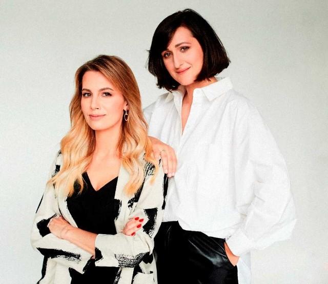 Twórczynie platformy How2 to dziennikarka Agnieszka Hyży i bizneswoman Anna Zofia Powierża